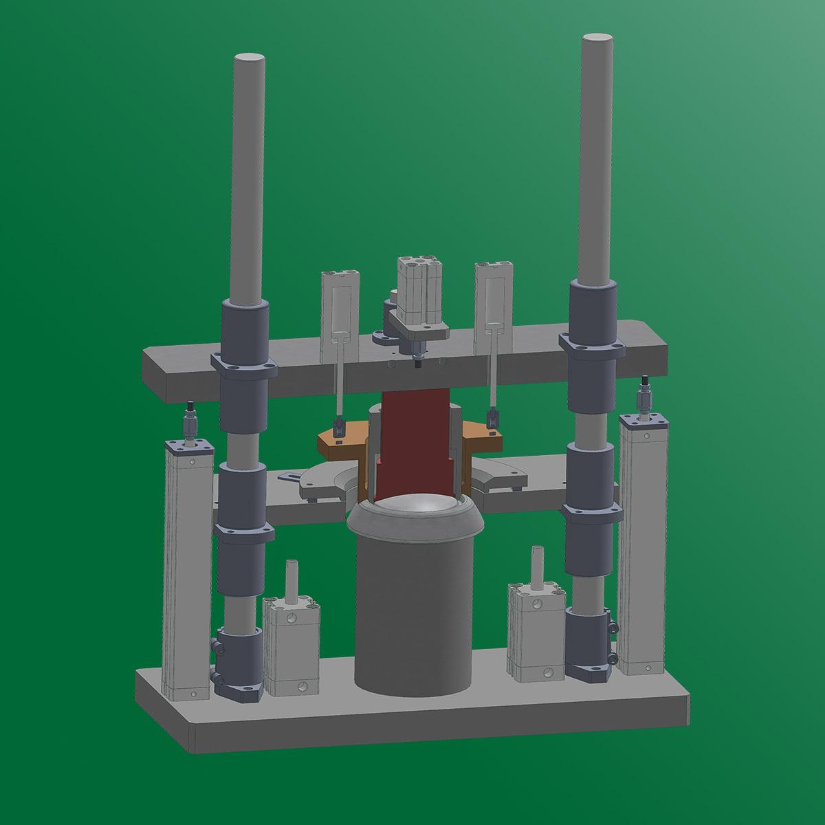 versuchswerkzeug vs sondermaschinenbau 3d zeichnung